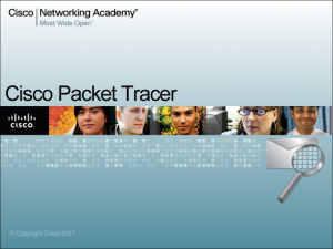 Welcome to the Cisco Packet Tracer Blog